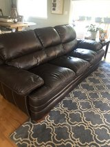 3 seater leather couch in Chicago, Illinois