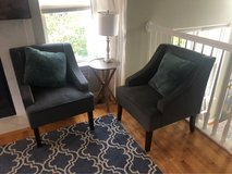 gray accent chairs in Chicago, Illinois