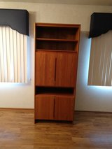 Vintage Solid Teak TV cabinet in Chicago, Illinois