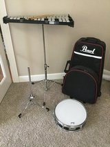 Pearl Student snare drum and bell kit set in Yorkville, Illinois