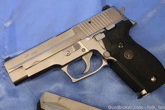 Sig Sauer P226 Factory Nickel ca. 1991 W. Germany in Stuttgart, GE