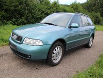 Audi A4 Station Wagon AC 1.hand nice car with new inspection in Grafenwoehr, GE
