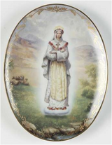 Our Lady of La Salette Collector Plate in Chicago, Illinois
