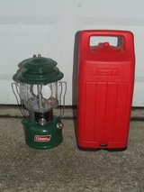 Vintage Coleman Lantern 220F / Carry Case in Glendale Heights, Illinois