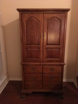 Wood Entertainment Center/Storage Cabinet in Kingwood, Texas