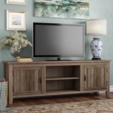 """Shreffler TV Stand for TVs up to 78"""" Grey Wash  New In Unopened Box in Macon, Georgia"""