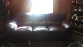 Couch and over sized chair set in Fort Leonard Wood, Missouri