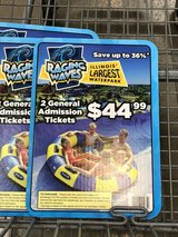 6 Raging Waves Tickets in Naperville, Illinois