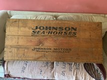 1930s Johnson Seahorses Crate in Orland Park, Illinois