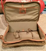 Vintage Samsonite Cloth Tweed Luggage Suitcase in Bolingbrook, Illinois