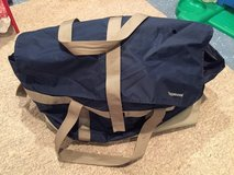 Vintage 80's Blue Tupperware Carrying Bag used for Original Parties in Bolingbrook, Illinois