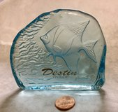 Fish Paperweight from Destin Florida in Bolingbrook, Illinois