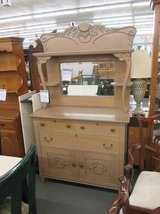 Antique Two Piece Sideboard in Bartlett, Illinois