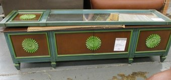 Eclectic Retro Styled Cabinet and a Matching Mirror in Bartlett, Illinois