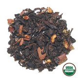 Green Chai with Orange Peel Tea Foil Resealable Pouch Three Teas Private Label Certified Organic in Houston, Texas