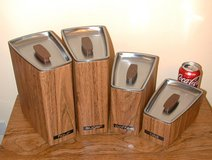 Retro Eames Style Kitchen Canisters in Bartlett, Illinois