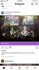 Hootie & The Blowfish Tix (2) in Chicago, Illinois