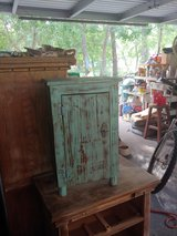 Small Reclaimed wood cabinet in Conroe, Texas
