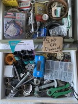 drawer full of nuts,bolts,screws in Ramstein, Germany