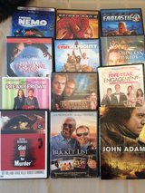 Various DVDs in Sandwich, Illinois