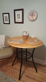 BISTRO DINING TABLE W/2 DROP LEAVES in Beaufort, South Carolina