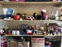 Garage full of items for resell in Fort Leonard Wood, Missouri