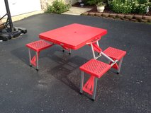 Portable Picnic Table in Aurora, Illinois
