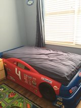 Toddler to twin Strep 2 race car bed in Westmont, Illinois