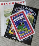 Rivers and Spires and River Fest Posters in Clarksville, Tennessee