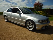 BMW 320CD M47N Coupe LOW MILES 2005 E46. in Lakenheath, UK