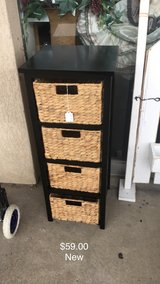 Wicker Cabinet (New) in Fort Leonard Wood, Missouri