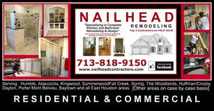 BATHROOM?  KITCHEN? DECK? PATIO? - Check this out in Kingwood, Texas