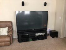 "Mitsubishi 65"" Color TV in Fort Lewis, Washington"