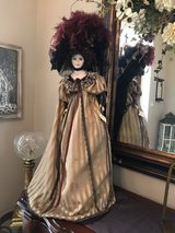 Victorian Doll on stand in Kingwood, Texas