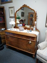 Vintage Dresser and Mirror in Naperville, Illinois