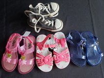 Toddler girls sz 9 shoes , sandals, sneakers Tennis in Fort Campbell, Kentucky