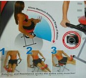 Red XL core/abdominal exerciser in Chicago, Illinois