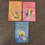 The Secret Mermaid books - 3 books!  Like New!! in Naperville, Illinois