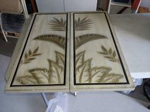 Tropical wood panels in Naperville, Illinois