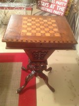 Antique Traveling Game Table in Chicago, Illinois