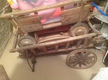 Antique German Wooden Carts in Chicago, Illinois