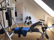 Kettler Weight Bench & Weights in Ramstein, Germany