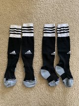 Adidas Climalite Youth Soccer Socks in Plainfield, Illinois