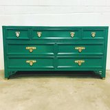 Dresser Kelly green dixie dresser delivery available  see me at Etsy Dianemarieshome in Chicago, Illinois