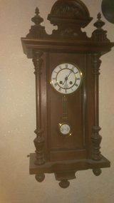 Antique wall clock #2 in Ramstein, Germany