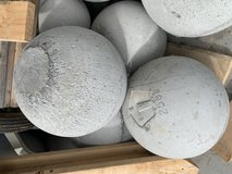 Strongman Equipment.  Atlas Stones and Fingals Fingers in Fort Drum, New York