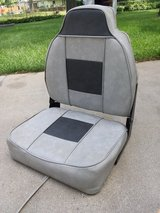 Boat seat in Plainfield, Illinois