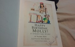 American Girls Happy BIrthday. Molly! Autographed copy in Orland Park, Illinois