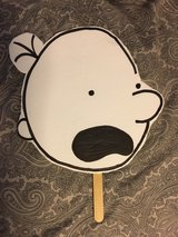 Diary of a Wimpy Kid mask in Chicago, Illinois