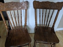 Early American wood chairs in Westmont, Illinois